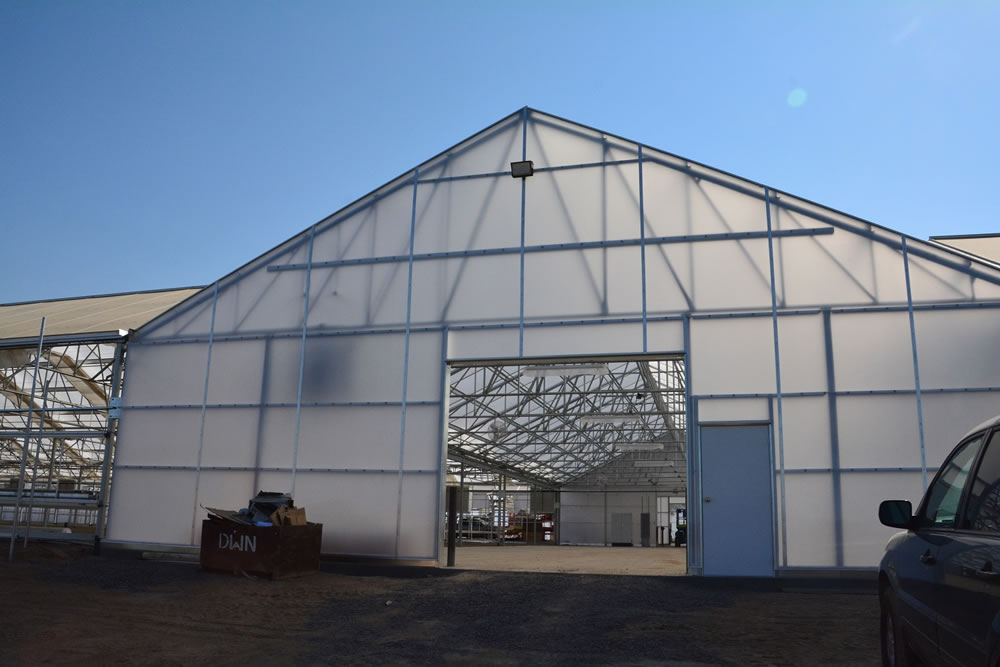 Dave Wilson Nursery Builds Large Greenhouse Manufactured by Agra Tech, Inc. | Commercial Greerhouse Manufacturer