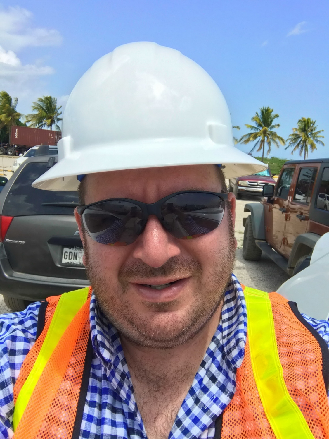 James Roberts, ATI Technical Support, visited the site three times during construction