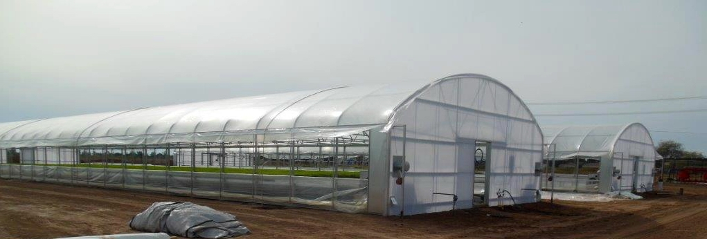 Thermolator 35 x 8′ eave height with drop down walls