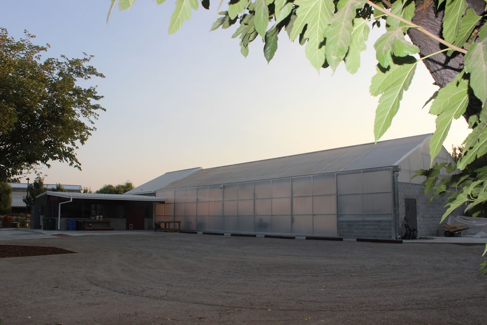 The Agra Tech research greenhouse | Lundberg Farms