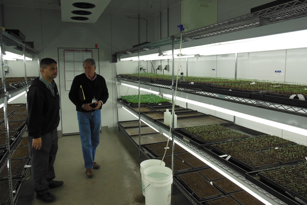 Controlled Environmental Chamber for germination
