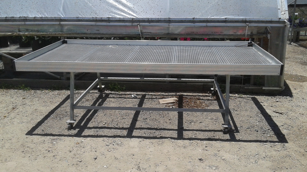 Caster Bench | Commercial Greenhouse Accessories