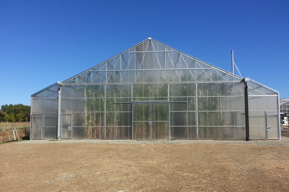 Agra Tech and UC Davis Create Tall Greenhouse Research | Agra Tech
