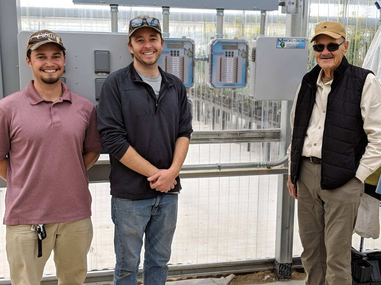 Micro Grow Controls at Agra Tech greenhouse