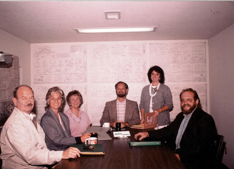 1986 Robert Pound, Eloise Pound, Eleanor Pound, John Pound, Anita Pound, Craig Miskel