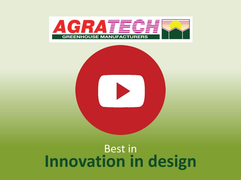 Best in Innovation in design | Commercial Greenhouse Manufacturer