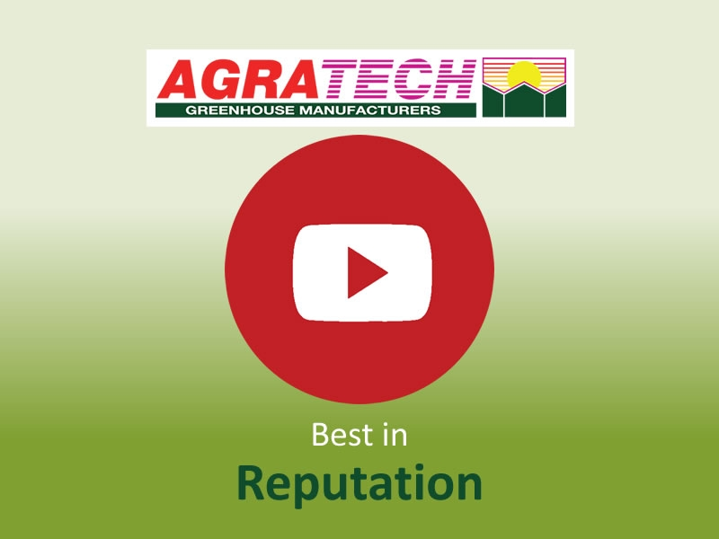 Best in Reputation | Commercial Greenhouse Manufacturer